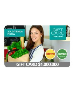Gift Card Virtual Cencosud $ 1.000.000