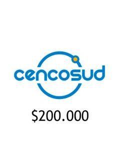 Gift Card Virtual Cencosud $ 200.000