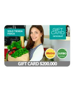 Gift Card Virtual Cencosud $ 200.000