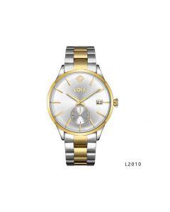 Reloj Loix L2010 Para Hombre – Plateado/Dorado