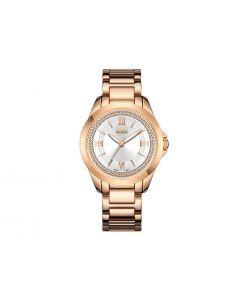 Reloj Loix Para Dama Rosa/plateado