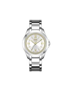 Reloj Loix Para Dama Plateado
