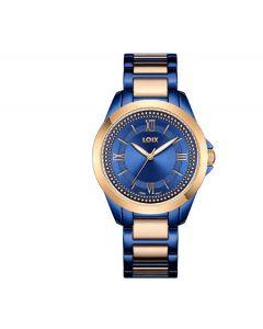 Reloj Loix Para Dama Azul/rosa