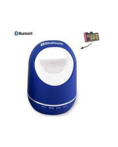 Parlante Bluetooth Canister Rojo Azul