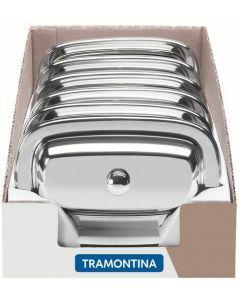 Mantequillera con Tapa en Acero Inoxidable - Service - GPES Tramontina